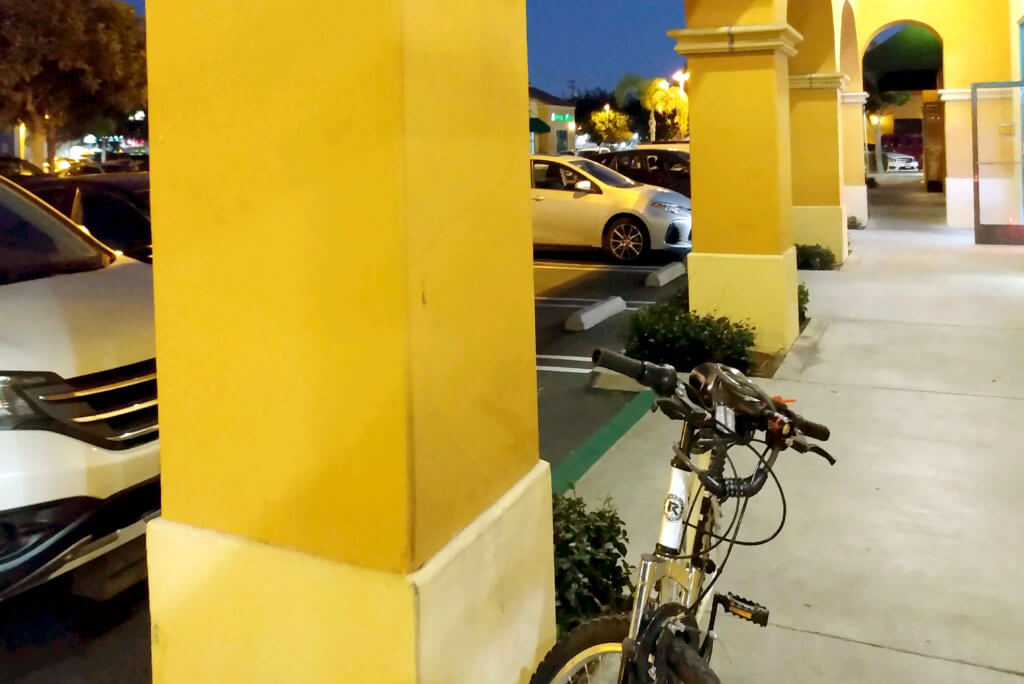 A Bicycle at Shopping Mall in Torrance