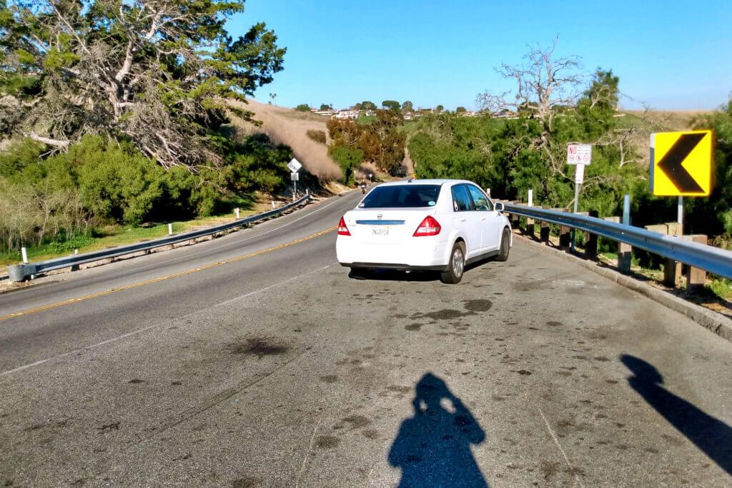 Moutain Pass at Palos Verdes Under the fine weather