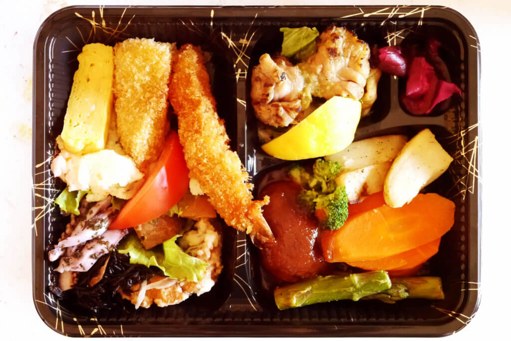 The king of Fukunos Japanese bento in LA. This is truly authentic Japanese bento. I really respect the restaurant.