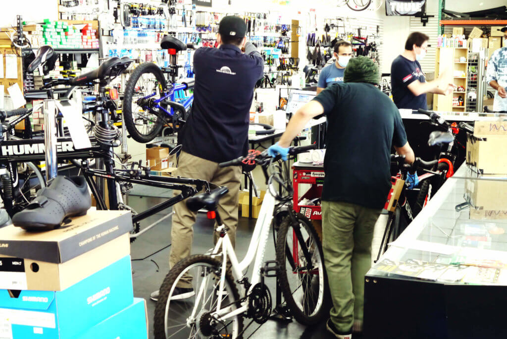 view-of-bike-shop-repairman-in-torrance