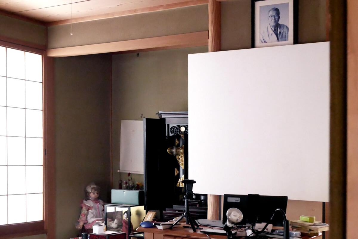 Japanese style room in Hiroshima Japan
