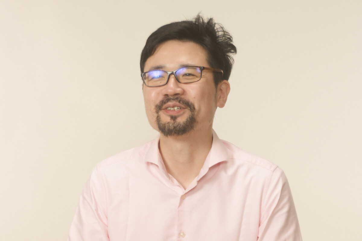 A man who is contemporary artist Tomoni Shintaku self portrait
