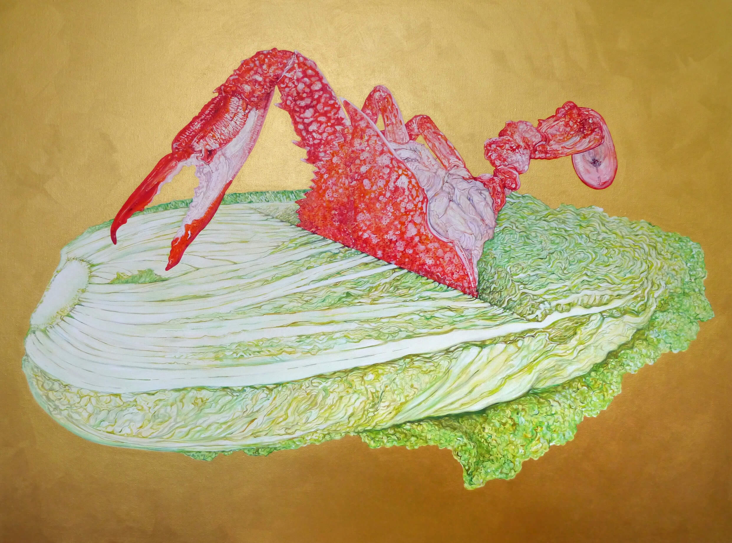 Non-GMO(Chinese Cabbage and Crab)
